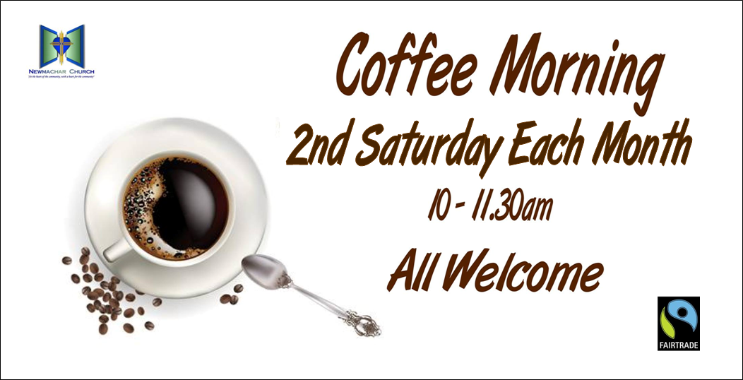 Coffee morning banner